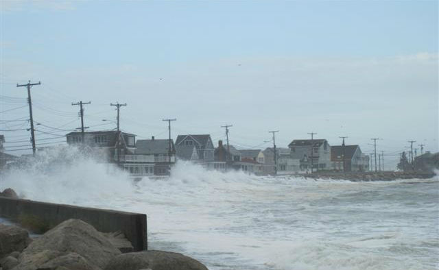 Hurricane Sandy impacted Service facilities from Maine to Virginia in late October. This photo is of Wells Beach in Maine.