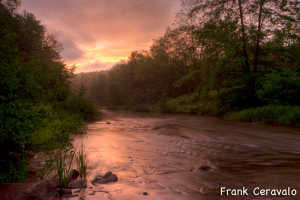 Blackwater River in West Virginia