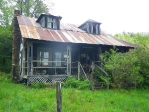 Journey's End, the homestead of Alexander and Daisy Turner, which Service funds helped to protect.