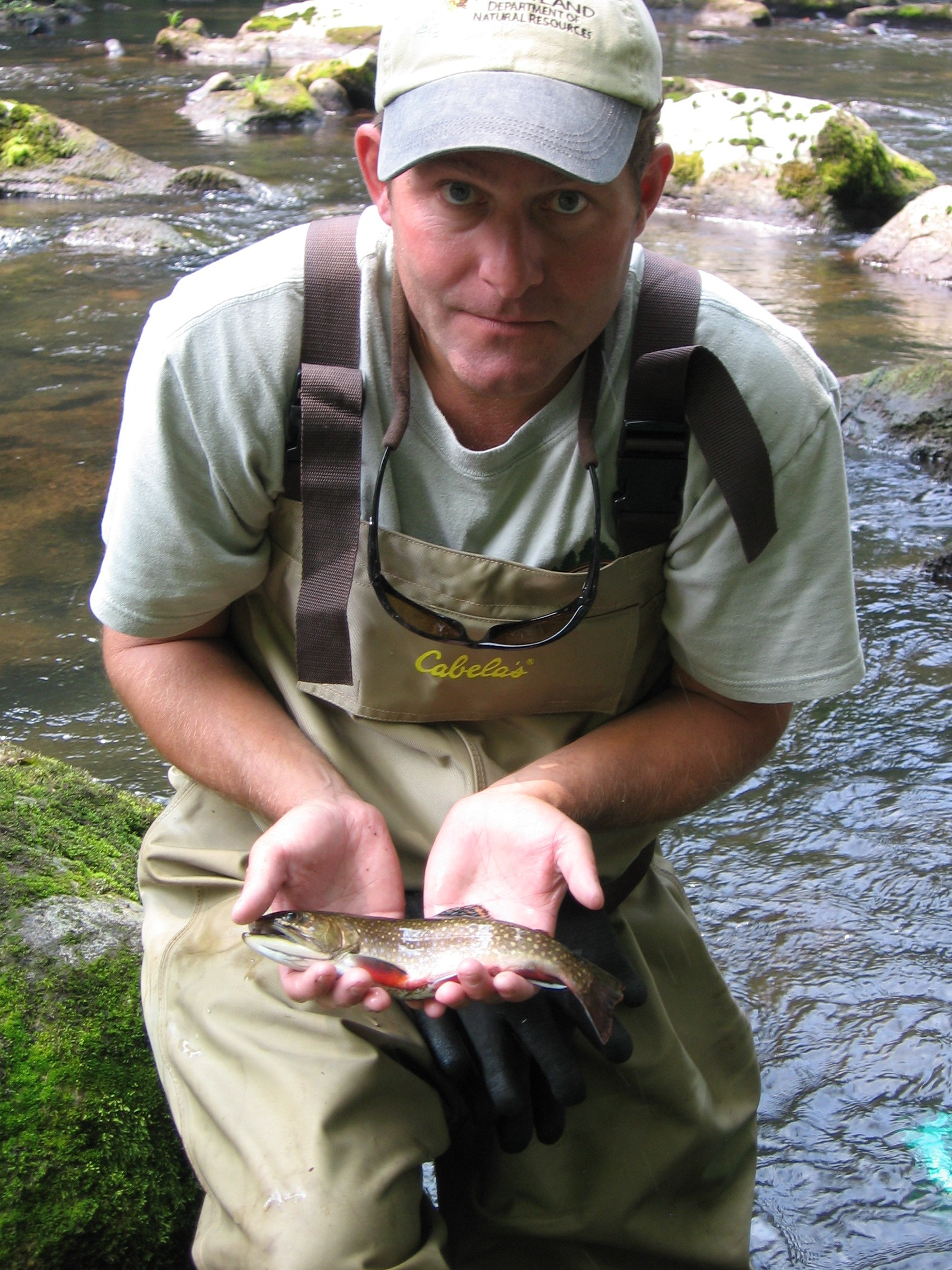 Meat fisherman for conservation u s fish and wildlife for Trout fishing maryland