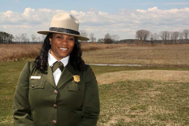"""""""I was proud to be a part of honoring a critical chapter in America's story for the cause of freedom. This day was several years in the making for many. I was pleased that the NPS was able to share this event with the various partners and stakeholders who were ultimately responsible for making it happen. They were relentless """"in fanning the flame"""" in their quest for a national commemoration in her honor.  And I was there to witness it all. It felt great!!"""""""