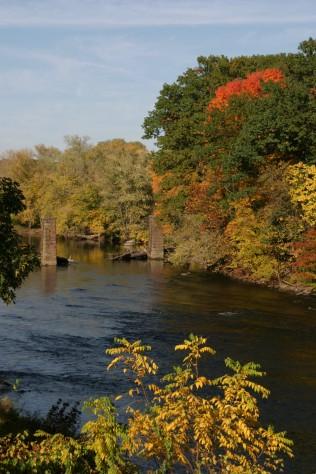 The Farmington River in Connecticut. Credit: Wanda Colman.