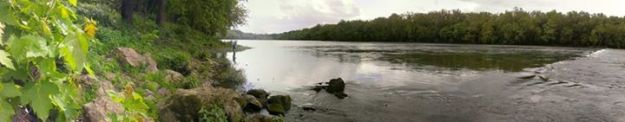A view of the Potomac River from Shepherdstown, W.Va. Credit: Angela Durkin