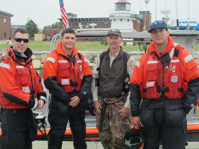 chrishusgen with USCG
