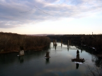 Potomac River from James Rumsey Bridge in Shepherdstown, W.Va. From Creative Commons Flickr user thisisbossi