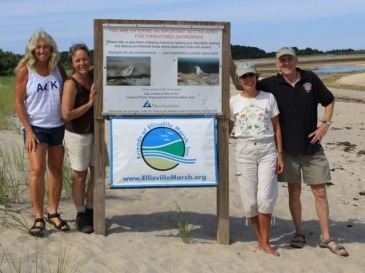 Members of Friends of Ellisville Marsh, Inc, which has successfully leveraged scarce resources, acquired a better understanding of site conditions and nesting patterns, and gained support from beach users.