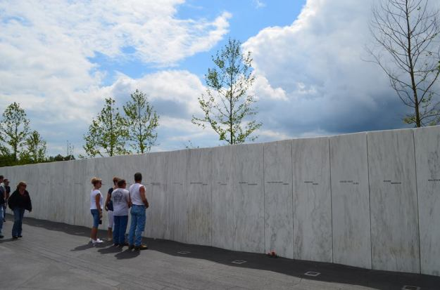 Photo from Flight 93 Memorial Facebook page. Credit: National Park Service
