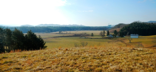 A view of Hevener Farm in Pocahontas County, West Virginia. Photo courtesy of the West Virginia Land Trust.