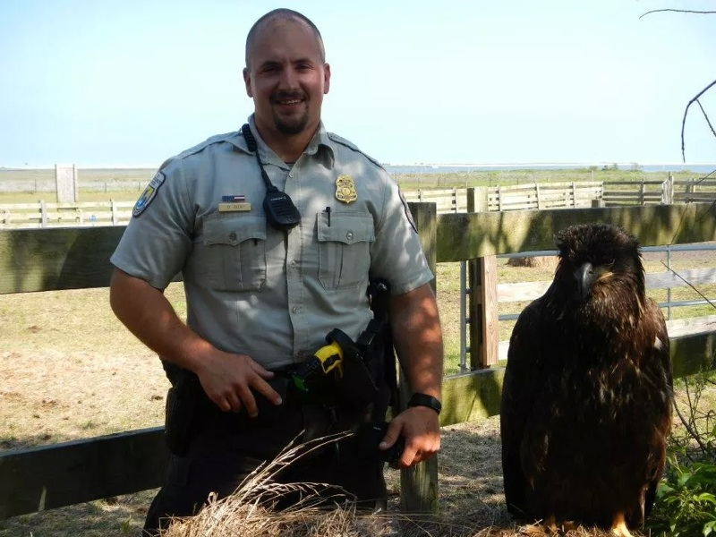 people behind the mission federal wildlife officer is