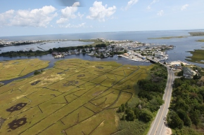 The view from above – an aerial tour of Hurricane Sandy recovery and restoration sites: Day 2