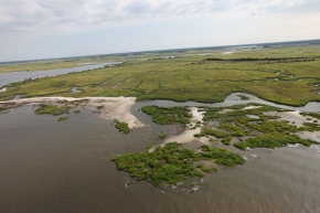 The view from above – an aerial tour of Hurricane Sandy recovery and restoration sites: Day 3
