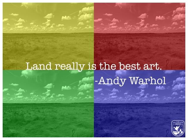 Land best art