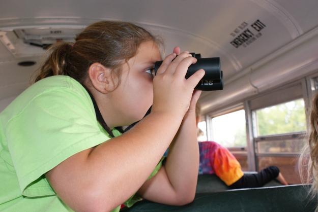 Child viewing wildlife at Blackwater National Wildlife Refuge. Credit: USFWS