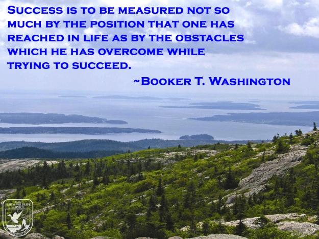 Acadia National Park & Booker T. Washington