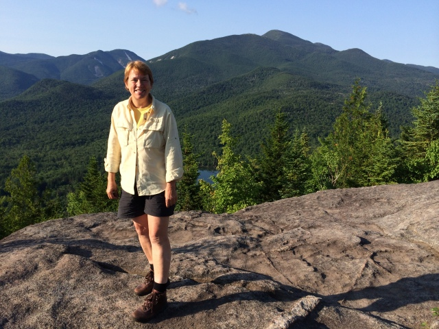 Kathryn in the Adirondack Mountains of New York. Photo courtesy of Kathryn.
