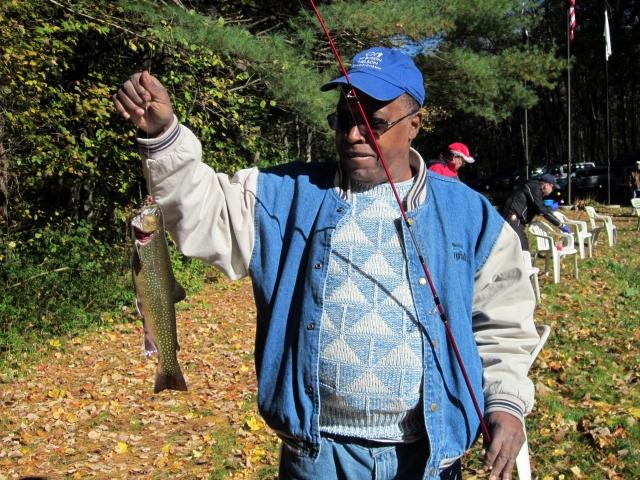 Vet Holding Fish