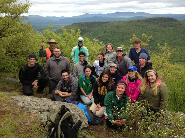 A group photo taken on one of our many adventures during the course. Photo credit: Bennett Gould
