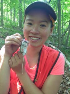 Tesia Lin is a college student studying ecology at Rutgers University in New Jersey.  Photo credit: John Perrine