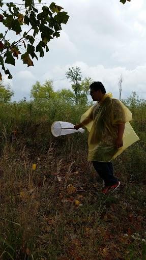 MC Bioblitz catching butterflies