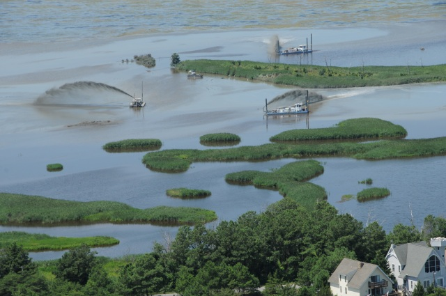 In the wake of Hurricane Sandy, Prime Hook received resilience funding to dredge 1.1 million cubic acres of sand from a historic salt marsh to restore natural flow, and ultimately, restore the system's natural capacity to serve as a buffer for storm surges.