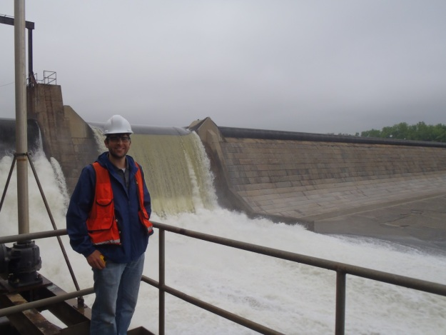 The Holyoke Dam on the Connecticut River in Massachusetts is another location where fish engineers work to move fish upstream to reach spawning habitat. Photo credit: USFWS