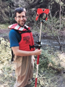 As a Pathways Student in the Fish Passage Engineer Program, Kevin enjoys working in the field on mission critical projects. Photo Credit: USFWS