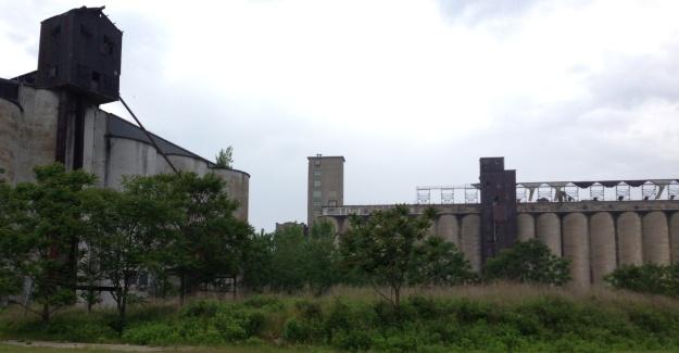 Photo 1. Grain Elevators, Silo City, Buffalo NY (1)
