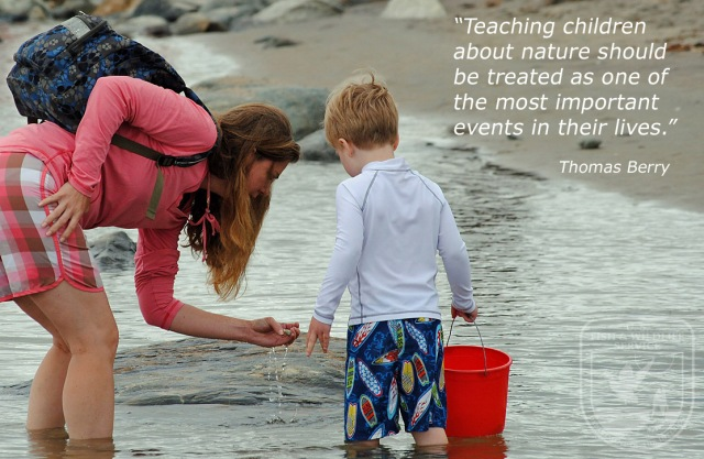 tidepooling with quote-logo