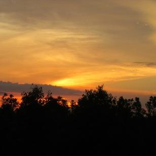 Sunset in Sebangua, Credit: USFWS