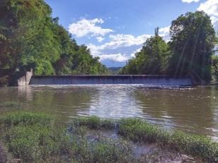 Highland Dam, pre-removal. Credit: Nick Millett