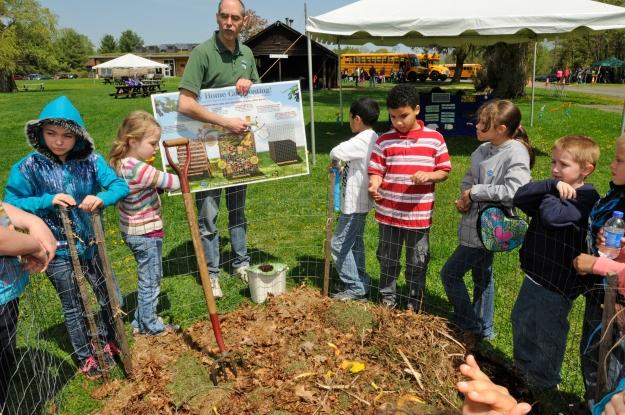 Composting! Photo credit: NYS DEC