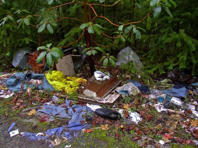 Roadside garbage Photo credit:BLM