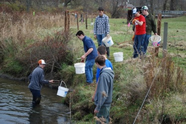 Photos for this project courtesy of Trout Unlimited