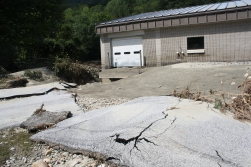Damage to infrastructure and roads.