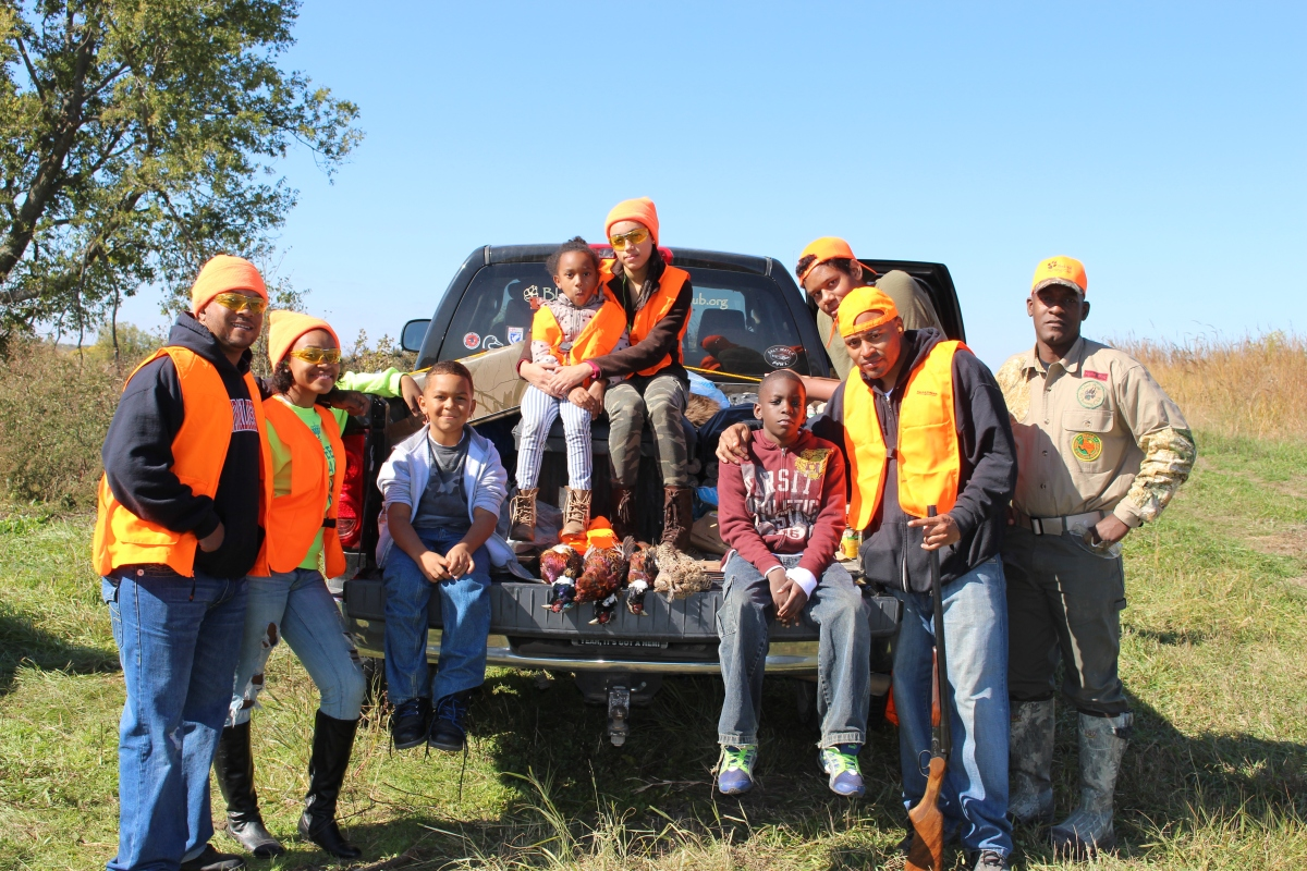 Breaking barriers: Hunting in the black community