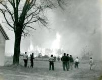 Kennebunkport Fire of 1947 Photo courtesy of Brick Store Museum