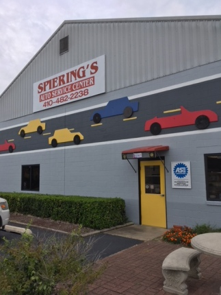 Bob Spiering opened Spiering's Auto Service Center as a young mechanic in Greensboro, Maryland. Photo courtesy of Bob.