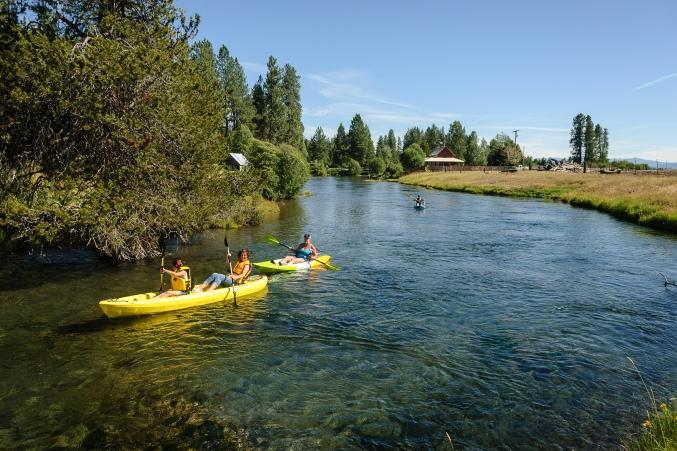kayaking Wood-Pawcatuck Watershed
