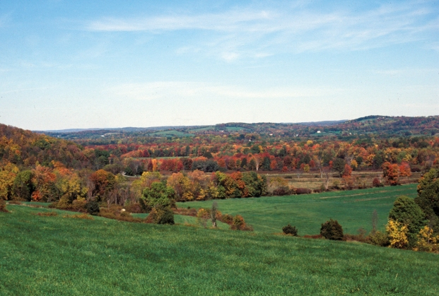 Scenic view of Wallkill River NWR