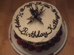"""""""Here is one of the cake I made. I usually bring a pumpkin roll by the refuge when I have time to make one."""""""
