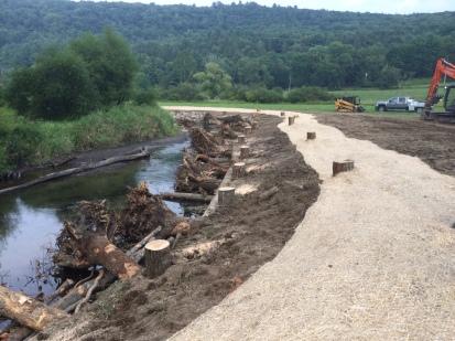 A stream restoration project