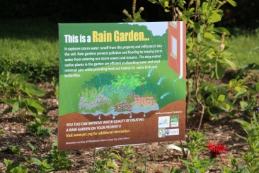Haverford Residential Rain Garden Sign