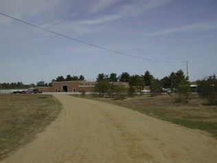 The view in 2003 down the road on the state military reservation that now leads to the captive-rearing facility. (N.H. Army National Guard)